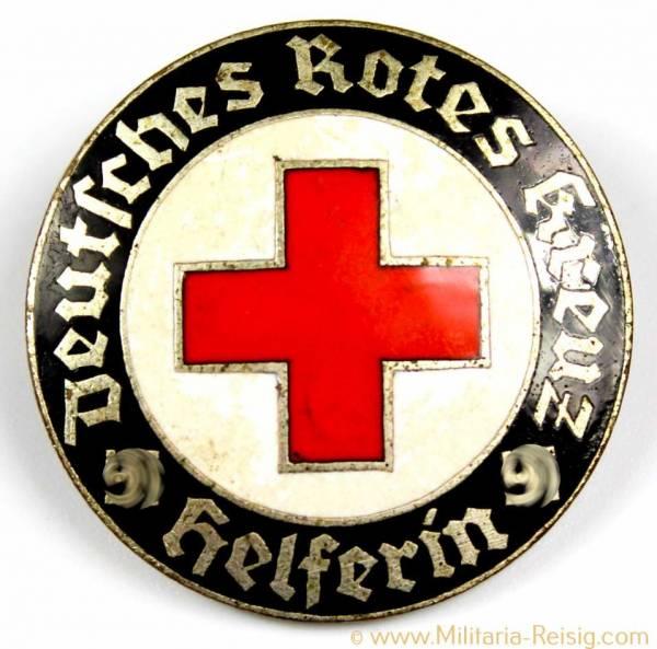 """Deutsches Rotes Kreuz (DRK) Brosche für """"Helferin"""""""