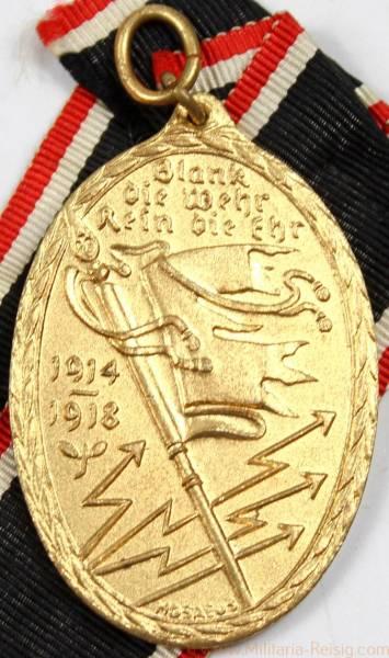 Kyffhäuser-Denkmünze für 1914/18 am Band