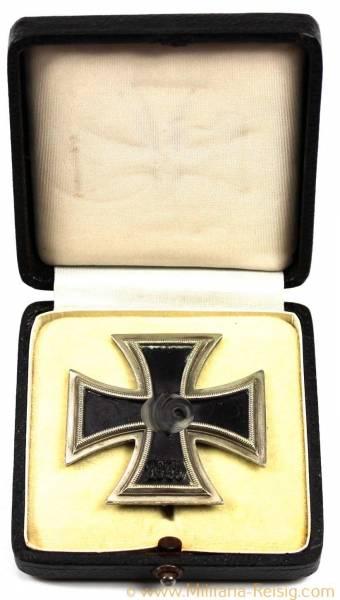 Eisernes Kreuz 1. Klasse 1939 im Etui - Herst. 7, Paul Maybauer, Berlin