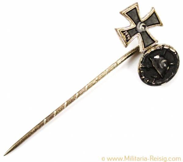 Miniatur Eisernes Kreuz 2.Klasse 1939 und Verwundetenabzeichen 1939