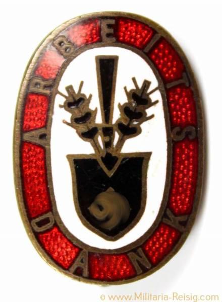 """Reichsarbeitsdienst (RAD) Abzeichen """"Arbeits Dank"""""""