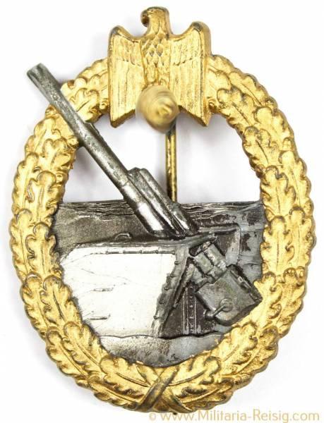 Kriegsabzeichen der Marine-Artillerie, Herst. Assmann, TOP!