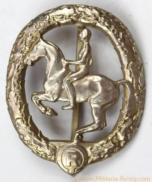 Deutsches Reiterabzeichen 2. Klasse Silber 1930