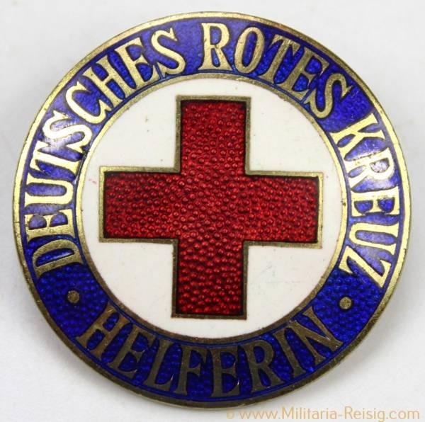 Deutsches Rotes Kreuz (DRK) Brosche für Helferin, 30 mm