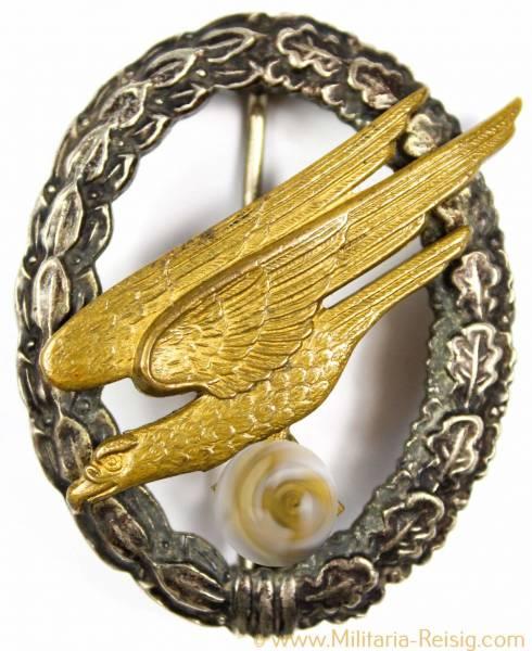 Fallschirmschützenabzeichen der Luftwaffe, Herst. Assmann, TOP!