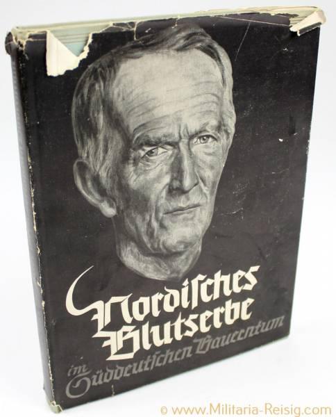 """Buch """"Nordisches Blutserbe im Süddeutschen Bauerntum"""" 1938"""