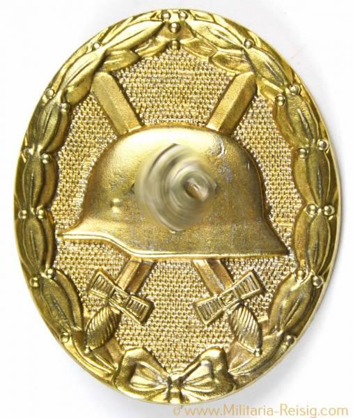 Verwundetenabzeichen in Gold 1939, Herst. 28 (Eugen Schmidhaussler, Pforzheim)