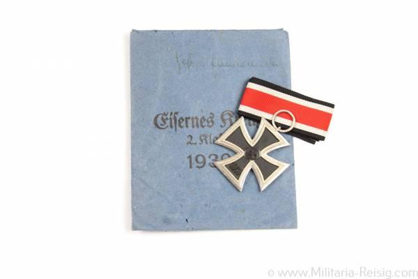 Eisernes Kreuz 2. Klasse 1939, Herst. Julius Maurer, Oberstein/Nahe
