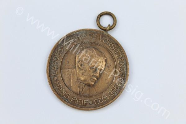 Medaille, Sachsen, Landesverband SÄCHS. Kaninchen Züchter - Hans Reif