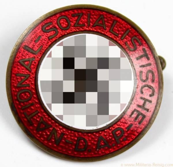 NSDAP Parteiabzeichen, Herst. RZM 6