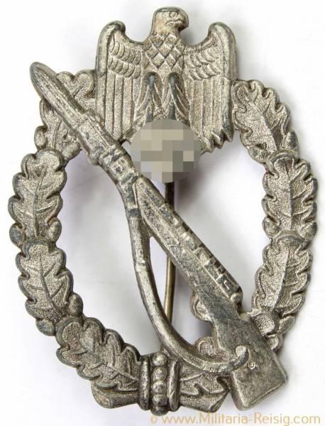 Infanterie Sturmabzeichen in Silber, Herst. Hermann Wernstein, Jena