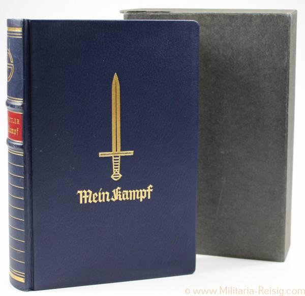 Mein Kampf Jubiläumsausgabe mit Schuber 1939, TOP ZUSTAND!