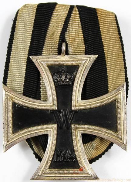 Eisernes Kreuz 2. Klasse 1914, Herst. Wilhelm Deumer, Lüdenscheid