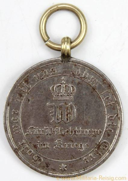 Kriegsdenkmünze für Nichtkämpfer 1870/1871