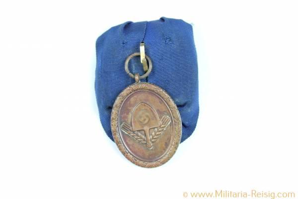 RAD (Reichsarbeitsdienst) Dienstauszeichnung für Männer 4. Stufe für 4 Jahre, Einzelspange