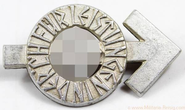 HJ-Leistungsabzeichen in Silber, Herst. RZM M1/101