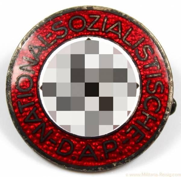 NSDAP Parteiabzeichen, Herst. RZM 1/62 (Gustav Hähl, Pforzheim)