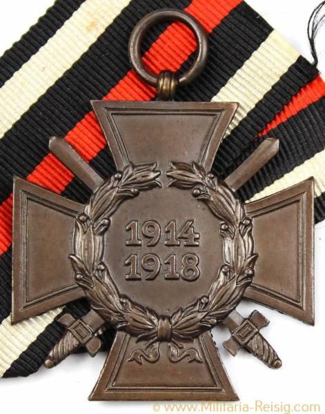 Ehrenkreuz für Frontkämpfer 1914-1918, Herst. O&B