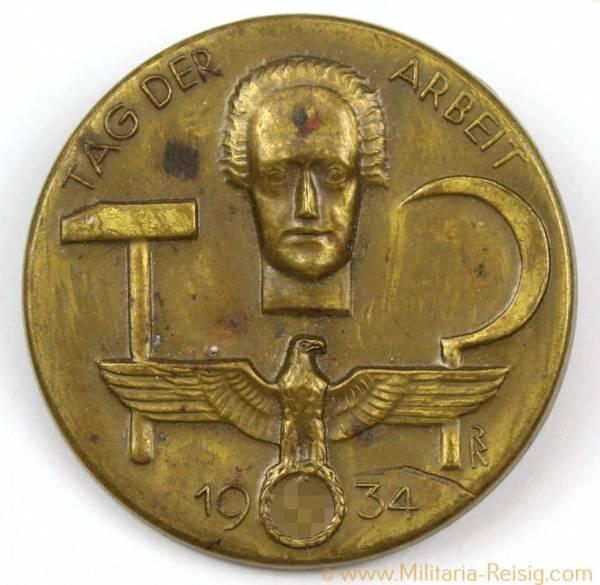Tag der Arbeit 1934 Tagungsabzeichen, 3. Reich