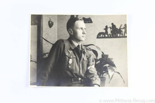 Foto eines Hitlerjungen (HJ)