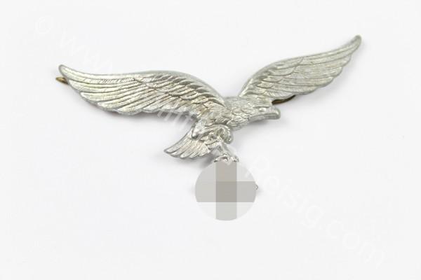 Luftwaffe Schirmmützenadler Messing