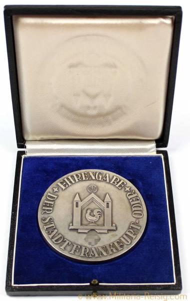 """Medaille """"Ehrengabe der Stadt Frankfurt an der Oder"""", 3. Reich"""