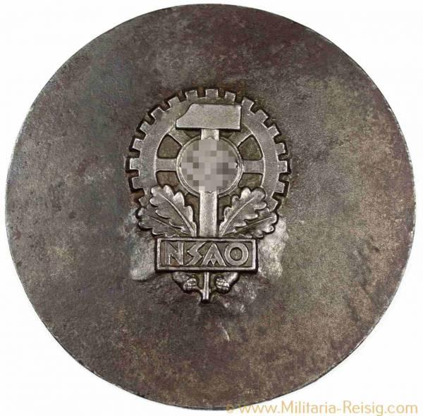 """Plakette """"NSAO"""", 3. Reich"""