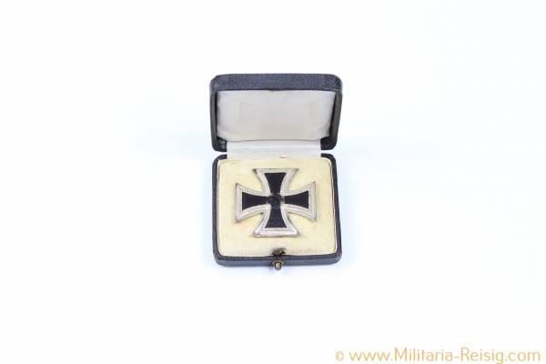 Eisernes Kreuz 1. Klasse im Etui - Herst. 100, Rudolf Wächtler & Lange, Mittweida