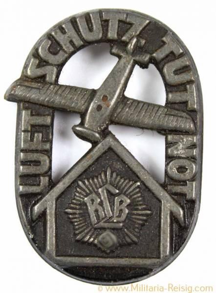 """Mitgliedsabzeichen, Reichsluftschutzbund (RLB), """"Luftschutz Tut Not"""""""