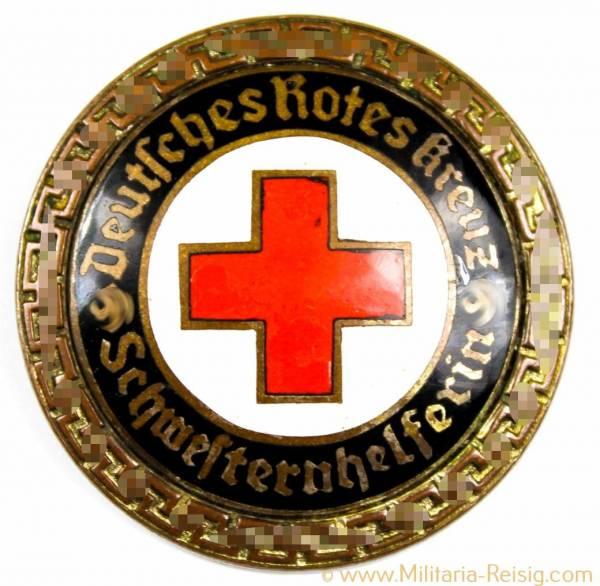 """Deutsches Rotes Kreuz (DRK) Brosche für """"Schwesternhelferin"""""""