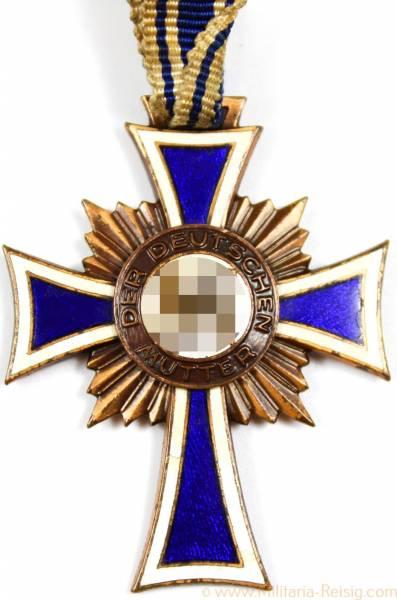 Mutterkreuz / Ehrenkreuz in Bronze