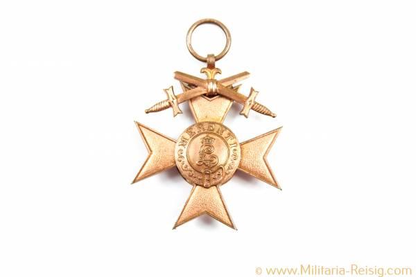 Militärverdienstkreuz 3.Klasse mit Schwertern - 3.Form 1913, Bayern