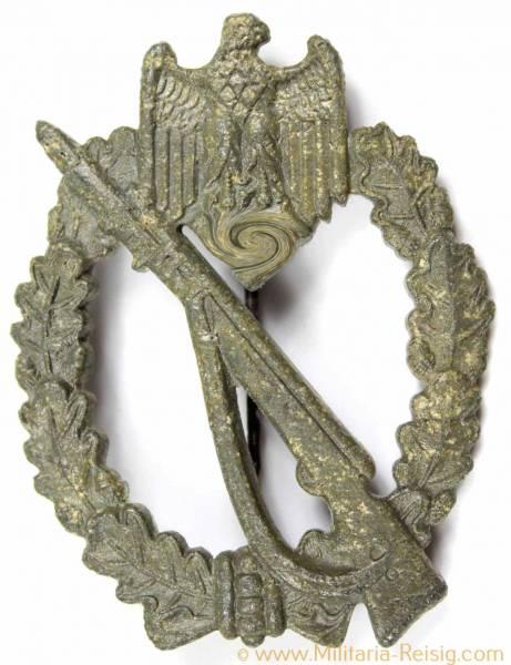 Infanterie Sturmabzeichen (ISA) in Silber, Herst. M.K.1 (Metall & Kunststoff, Gablonz)