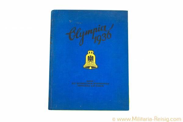 Olympia 1936 Band 1 ZIgarettenbilderalbum