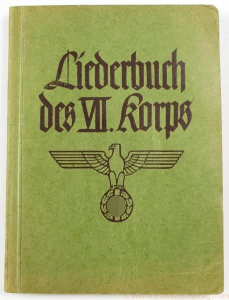 Liederbuch des VII. Korps 1939