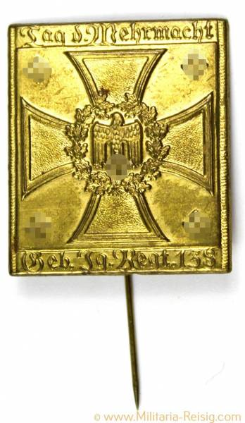 """Anstecknadel """"Tag der Wehrmacht"""""""