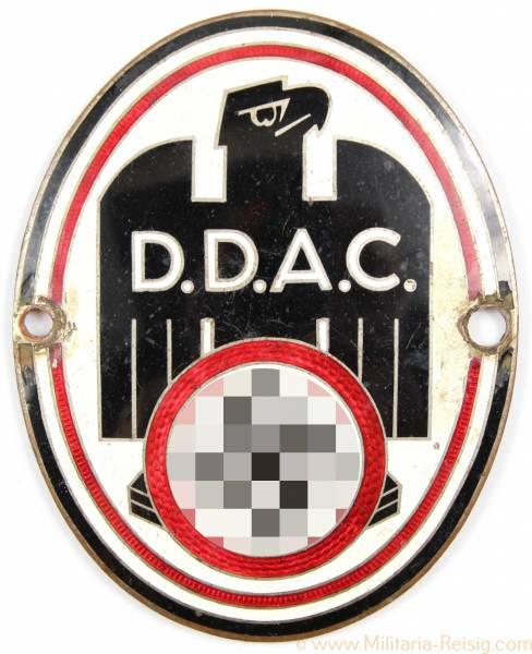 Emailleschild - DDAC Autoplakett