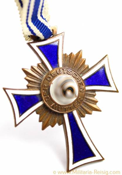 Ehrenkreuz der Deutschen Mutter 3.Stufe in Bronze