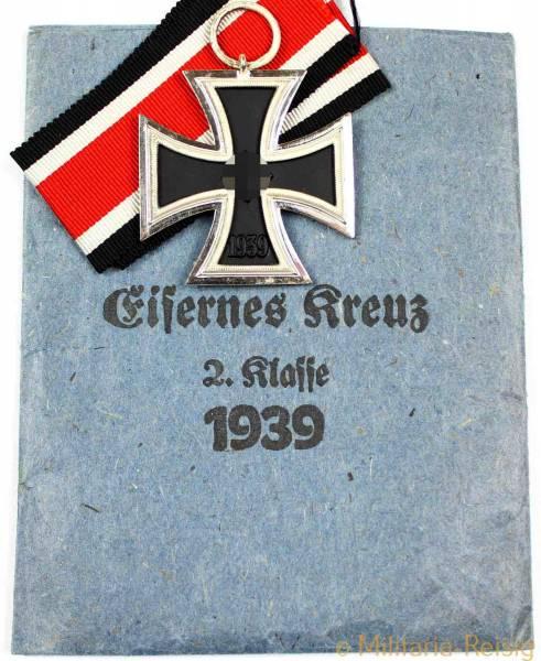 Eisernes Kreuz 2. Klasse 1939, Herst. 13 - Gustav Brehmer, Markneukirchen, TOP!!