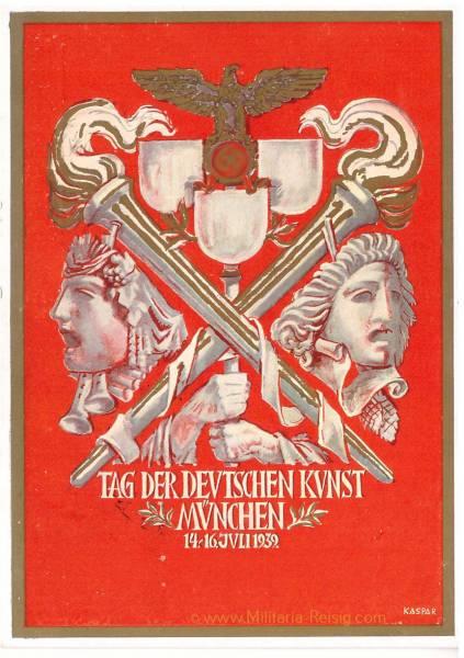 Postkarte Tag der deutschen Kunst
