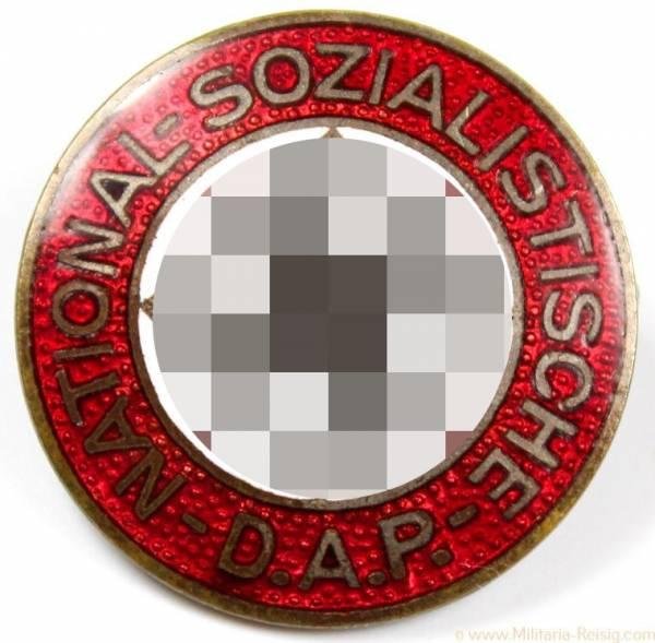 NSDAP Parteiabzeichen, Herst. RZM 39 (Rudolf Reiling, Pforzheim)