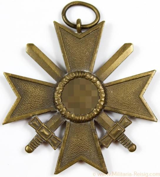 Kriegsverdienstkreuz mit Schwertern 2.Klasse 1939 mit Hersteller
