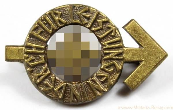 Miniatur HJ Leistungsabzeichen in Bronze, Herst. RZM M1/101