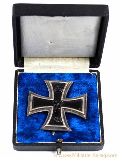 Eisernes Kreuz 1. Klasse 1914 im Etui, Herst. KO