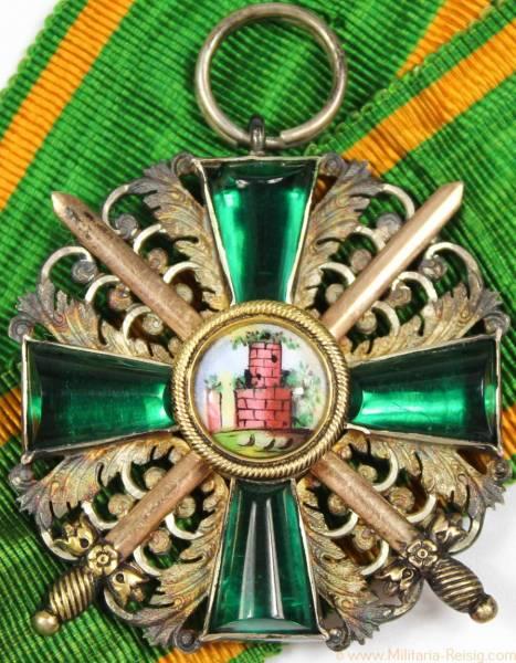 Orden vom Zähringer Löwen Ritterkreuz 2. Klasse mit Schwertern