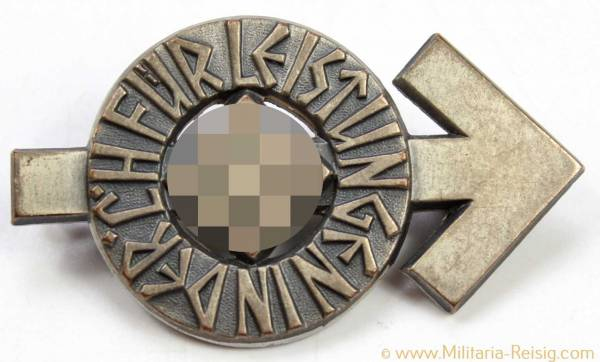 HJ-Leistungsabzeichen in Silber, Herst. RZM M1/101 - Cupal