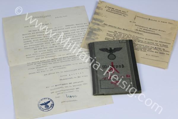 Dokumentennachlass eines SS-Rottenführers