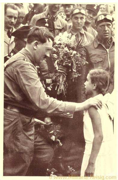 Postkarte, Adolf Hitler, 3. Reich