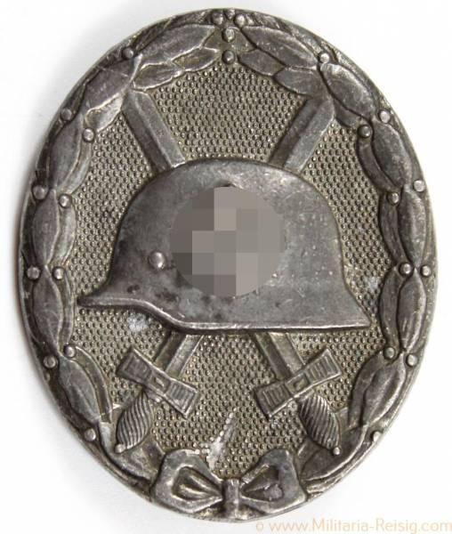 Verwundetenabzeichen 1939 Silber, Herst. 30 (Hauptmünzamt Wien)