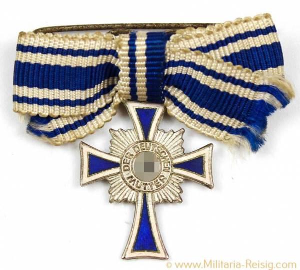 Miniatur Ehrenkreuz der Deutschen Mutter 2.Stufe in Silber